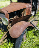 Rusty old Model T Stock Images