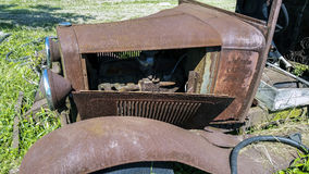 Rusty old Model T Royalty Free Stock Photo