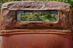 Rusty old pickup for salvage Royalty Free Stock Images