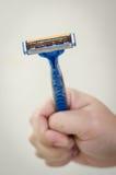 Rusty old razor Stock Images