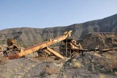 Rusty Old Sand Machinery Lizenzfreies Stockfoto