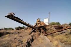 Rusty Old Sand Machinery Lizenzfreie Stockfotografie