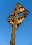 Rusty Old Sign Royalty Free Stock Image