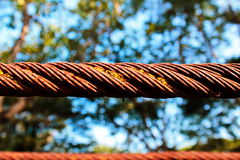 Rusty old sling stock photos