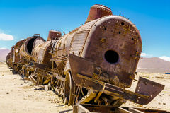 Rusty old steam train Royalty Free Stock Image