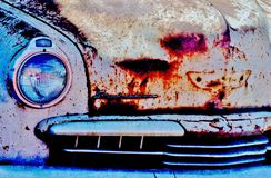 Rusty old Studebaker.... Royalty Free Stock Photos