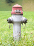 Rusty old Swiss fire hydrant Royalty Free Stock Images