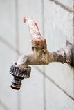 Rusty old tap Royalty Free Stock Photography