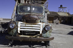 Rusty old timer car Royalty Free Stock Photography
