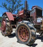Rusty Old Tractor Royalty Free Stock Photos