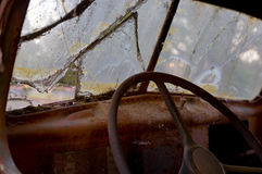Rusty Old Truck Stockbilder
