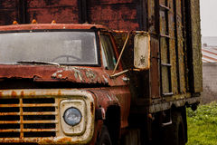 Rusty Old Truck Stock Afbeelding