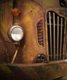 Rusty Old Truck Closeup Royalty Free Stock Images