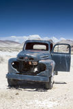 Rusty Old Truck in Ghost City Rhyolite in in Goldwell Open Air M Royalty Free Stock Photo