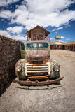 Rusty old truck, Uyuni, Bolivia Royalty Free Stock Images