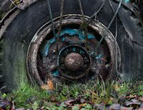 Free Rusty Old Truck Wheel Royalty Free Stock Photo - 132813455