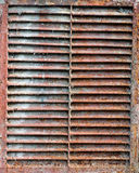 Rusty old ventilation Royalty Free Stock Photo