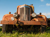 Rusty Old Vintage Car Royalty Free Stock Image