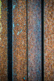 Rusty old wall texture Stock Image