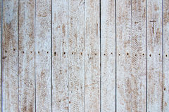 Rusty old white hardwood plank wall Royalty Free Stock Photography