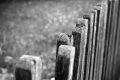 Rusty Old Wooden Fence Stock Photos