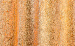 The rusty old zinc. For background Royalty Free Stock Photo