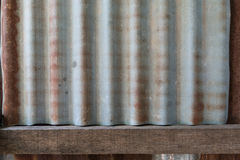 Rusty old zinc texture background Stock Images