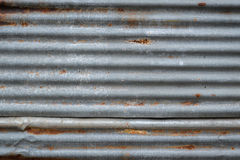 Rusty old zinc texture. Rusty old zinc concept for texture, background and article Stock Image