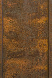 Rusty orange brown rust old metal background texture Stock Images