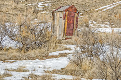 Rusty Outhouse Stock Photos