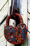 Rusty Padlock Royalty Free Stock Images