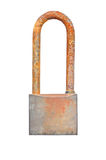 Rusty padlock Royalty Free Stock Image