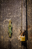 Rusty Padlock Stock Photography