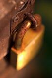 Rusty padlock. Rusty old padlock Royalty Free Stock Images