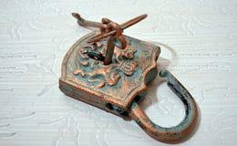 Rusty padlock Royalty Free Stock Images