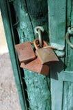 Rusty padlocks Royalty Free Stock Images