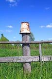 Rusty pail Stock Photos