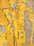 Rusty paint on wall Royalty Free Stock Images