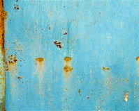 Rusty painted metal background or texture royalty free stock images
