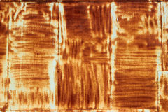 Rusty painted metal surface Royalty Free Stock Images
