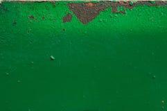 Rusty painted metal Stock Photos