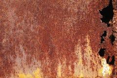 Rusty painted metallic background Stock Photo
