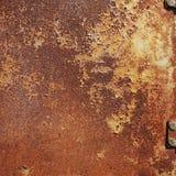 Rusty painted metallic background Royalty Free Stock Photo