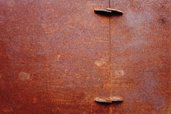 Rusty painted metallic background Royalty Free Stock Photography