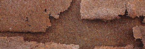 Rusty painted metallic background Stock Images