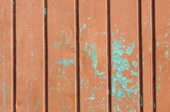 Rusty painted steel panel Royalty Free Stock Image