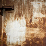 Rusty panel Stock Images