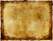 Rusty paper Royalty Free Stock Photos