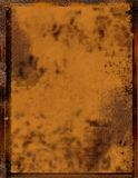 Rusty paper - background. Rusty paper for wallpaper, background, letters..or metal surface Royalty Free Stock Photography