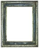 Rusty Picture Frame Cutout Fotografia Stock